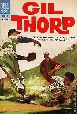 Gil Thorp #1 1963 VG- 3.5 Stock Image Low Grade