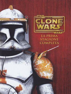 Star Wars - The Clone Wars - Stagione 01 (4 Dvd)  - Dvd