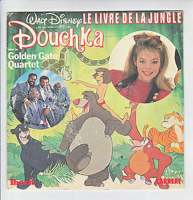 Douchka & golden Gate Quartett 45T Le Livre de La Jungle walt disney Ibach 14429