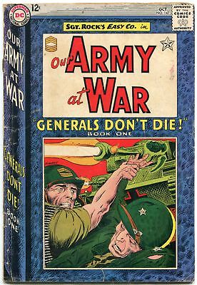 Our Army At War #147 1964-D.c. War Silver-Age-Sgt. Rock- G/vg