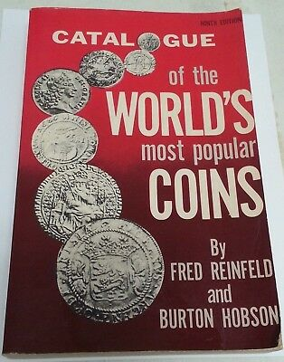 Catalogue Of World's Most Popular Coins ~ Reinfeld & Hobson ~ 1976 ~Price Guide!