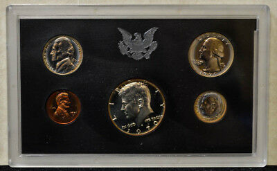 1970 U.S. Proof Set With Rainbow Toned Lincoln Cent 1c  933036-23