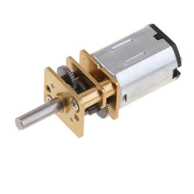DC 12V 3000RPM N20 Micro Speed Reduction Gear Motor with