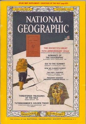 national geographic-OCT 1963-75TH ANNIVERSARY.