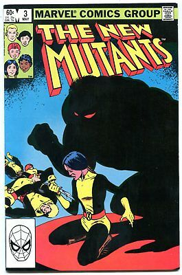 NEW MUTANTS #3 First DEMON BEAR--Marvel comic NM-