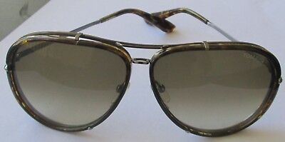 a71d3cf0a116f TOM FORD CYRILLE TF109 Tortoise Aviator Sunglasses -  44.00