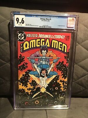Omega Men #3 Cgc 9.6. First Appearance Of Lobo. White Pages. Dc 1978