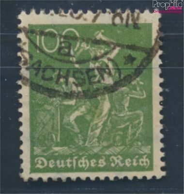 German Empire 187c proofed fine used / cancelled 1921 Groups of workers (8031282