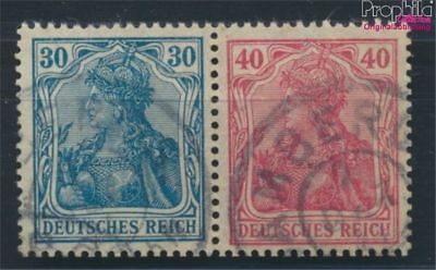 German Empire W16 proofed fine used / cancelled 1920 Germania (7054532