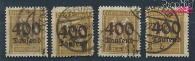 German Empire 297-300 proofed used 1923 Hyperinflation (8062703