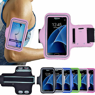 Sport Gym Armband Cover Cycling Running Exercise Phone Holder Case For Samsung