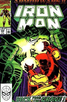 Iron Man (1st Series) Mark Jewelers #259MJ 1990 VG/FN 5.0 Stock Image Low Grade