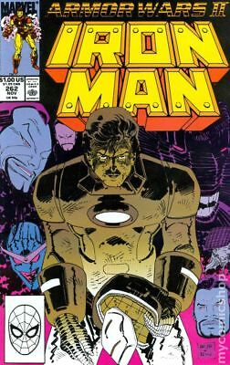 Iron Man (1st Series) Mark Jewelers #262MJ 1990 FN- 5.5 Stock Image Low Grade