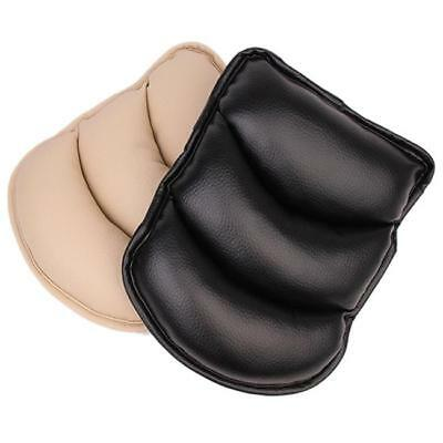 Black/Beige Car Console Seat Pocket Armrest Cushion Pillow Support Pad Z