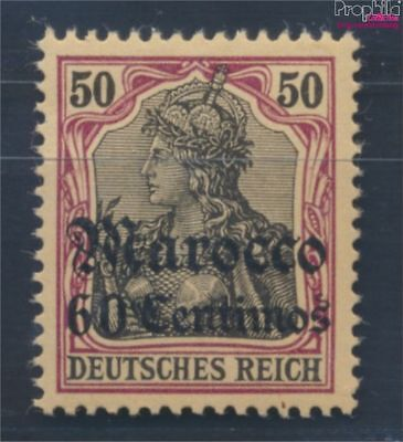 Dt. Post Marokko 28 neuf 1905 Germania-Aufdruck (8268365