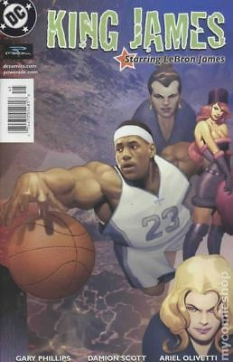 King James Starring LeBron James 1J 2004 VF Stock Image