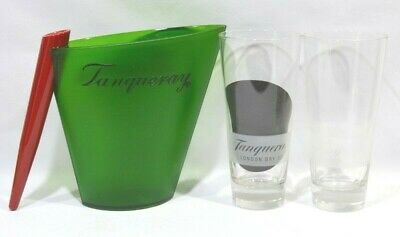 TANQUERAY London dry Gin 2 verres + 1 pichet plastique NEUF