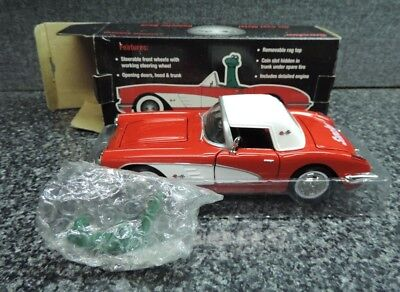 Sinclair 1959 Chevrolet Corvette Die Cast Metal Collector Bank Mint in Box