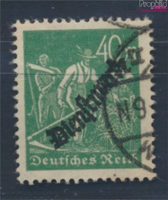 German Empire D77b proofed fine used / cancelled 1923 service marks (8031171