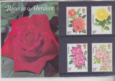 GB 1976 Roses Aberdeen private Presentation Pack VGC stamps Free postage!