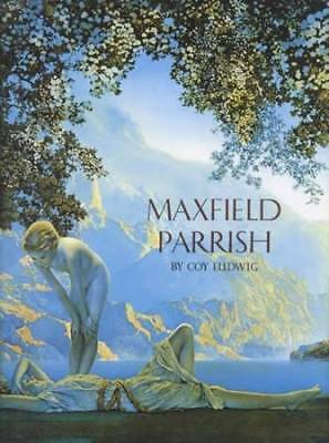 Maxfield Parrish Collectors Book - Vintage Art Prints Posters Calendars Etc