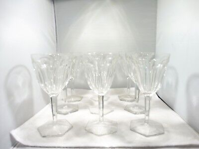 22 Vintage Semi Antique Old World Baccarat Wine And Champagne Glasses