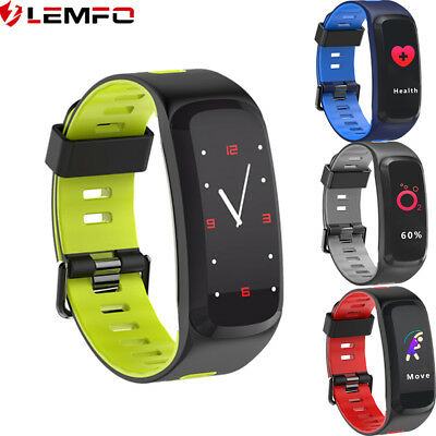 Lemfo F4 Impermeable Smart Watch Frecuencia Cardíaca Pour Xiaomi Huawei IOS
