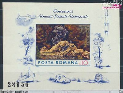 Romania block113 unmounted mint / never hinged 1974 UPU (8688329