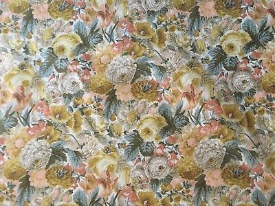 Beautiful 1930's French Packed Floral Printed Cotton Fabric  (2399)