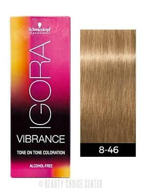 a2bc349320 Schwarzkopf Igora Royal Vibrance Tone on Tone Hair Color 8-46 Light Blonde  Beige