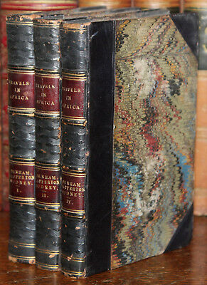 1831 Travels Discoveries in Northern Central Africa Denham Clapperton Oudney Map