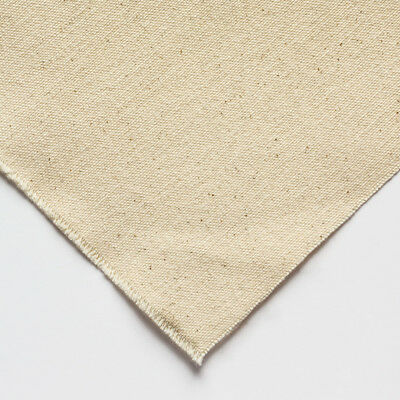 Jackson's : 390g (12oz) Unprimed Cotton Duck Canvas : Medium Grain : 183cm width