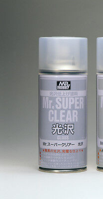 MR. HOBBY B-513 MR.SUPER Clear Gloss Spray 170ml (1 Liter = 73,47 EUR)