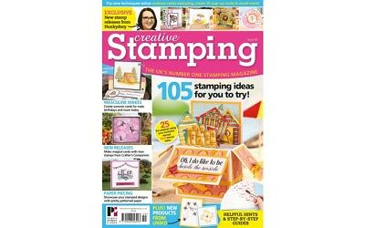 Creative Stamping Magazine Issue 59 Free Apple Blossom Summer Holiday Stamp Set