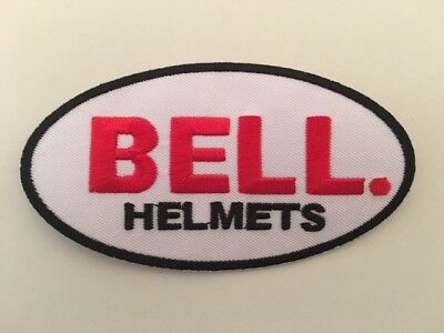 A377 // Ecusson Patch Aufnaher Toppa / Neuf / Bell Helmets / 11*6 Cm