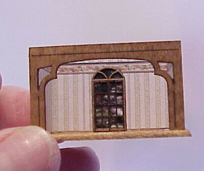 1/144th Scale roombox Palladian door kit laser cut  by sdk miniatures LLC
