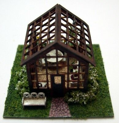 1/144th Scale Greenhouse kit laser cut by  sdk miniatures LLC