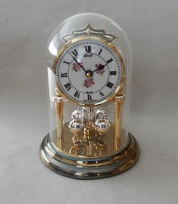 Fine  Hermle German  Anniversary Clock Fully working   2827