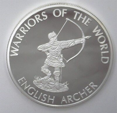 Warriors Of The World 2010 10 Francs -English Archer- Perfect Proof Dcam