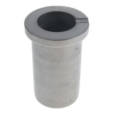 1Kg Round Graphite Crucible Casting Foundry Melting Mould for Gold Silver