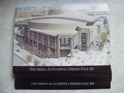1994 Cleveland Cavaliers Cavs The Arena At Gateway Information Flyer Lot of 122