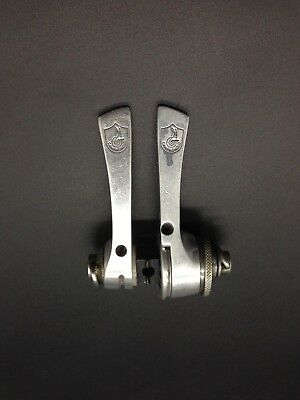 Vintage Campagnolo Record Shifters 8 Speed Control Lever 8V C-Record Era