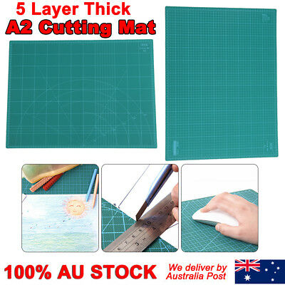 A2 Thick 5-Ply Self Healing 2-Side Handmade DIY Carving Too Craft Cutting Mat