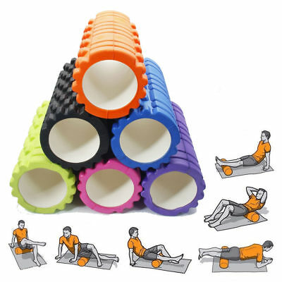 Foam Roller - Closed Cell Roller for Muscle Therapy & Deep Massage