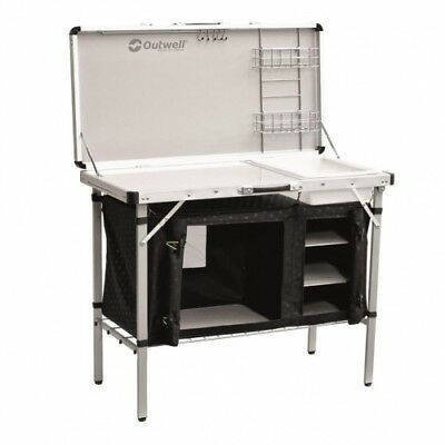 Outwell Drayton Kitchen Table Camping-Tisch Camping-Theke Outdoor-Küche Alu