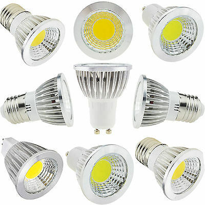 MR16 E12 E27 GU10 Lamp Dimmable Cree LED Spotlight COB Epistar Bulb 9W 12W 15W