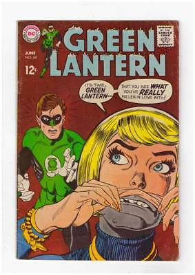 Green Lantern # 69 If Earth Fails The Test...It Means War ! grade 5.5 scarce !!