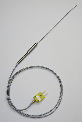 Ultra Thin Stainless Steel K-type Thermocouple Flexible Sensor 1mm SSP-1-150