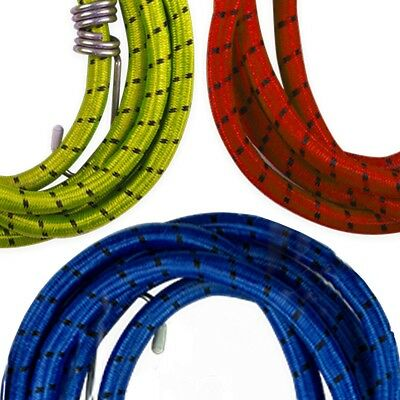 4x EXTRA STRONG BUNGEE ROPES Long 1.8m 30kg Car Trailer Caravan Cover Tarpaulin