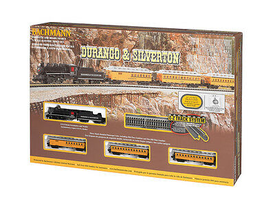 Bachmann 24020 N Scale Ready to Run Train Set Durango & Silverton Passenger Set
